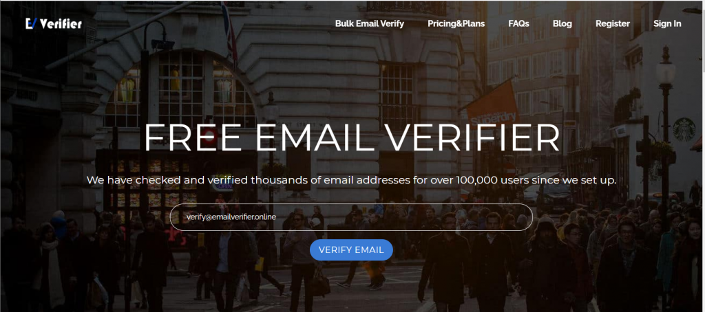 Bulk email verifier online