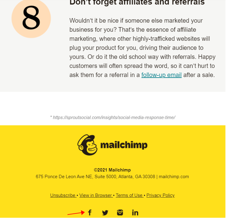 mobile-friendly email boost web seo-mailchimp email template